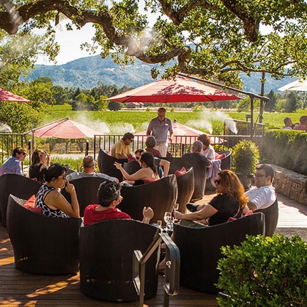 Sparkling wine tour Napa Valley Mumm Simply Driven