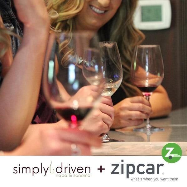 Zipcar Napa Sonoma Wine Country Getaway